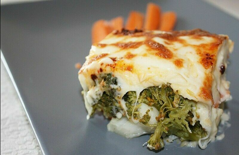 BAKED VEGGIES WITH BECHAMEL SAUCE