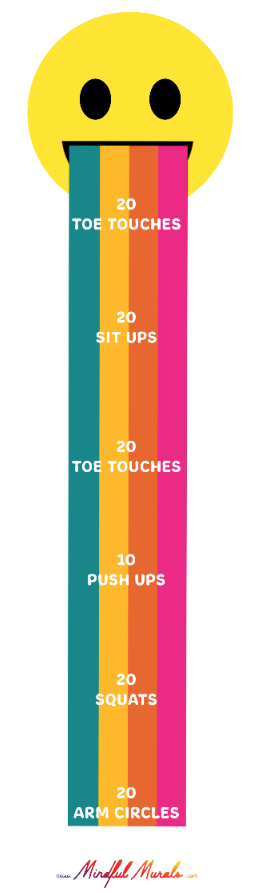 Smiley Fitness Rollout Game