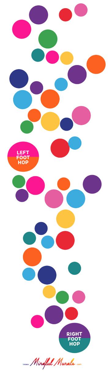 K-6 Color Hop! Rollout Game