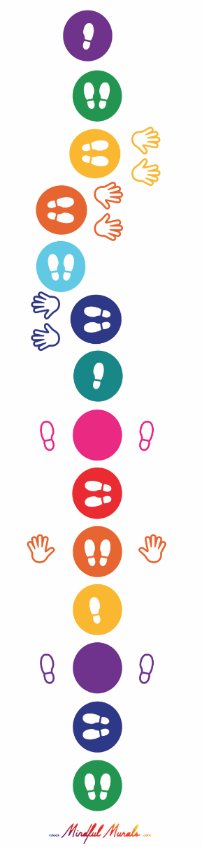 Hand and Feet Color Rollout Game