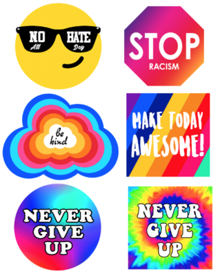 Kindness Decals 6 Pack