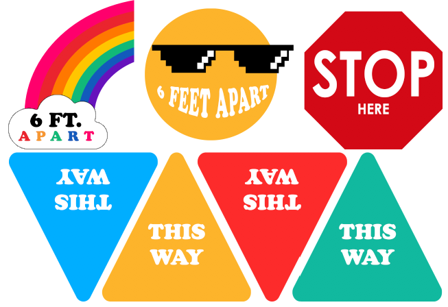 Safety Decal 7 Pack