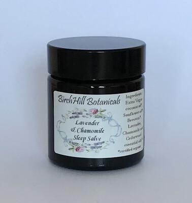 Lavender and Chamomile Sleep Salve