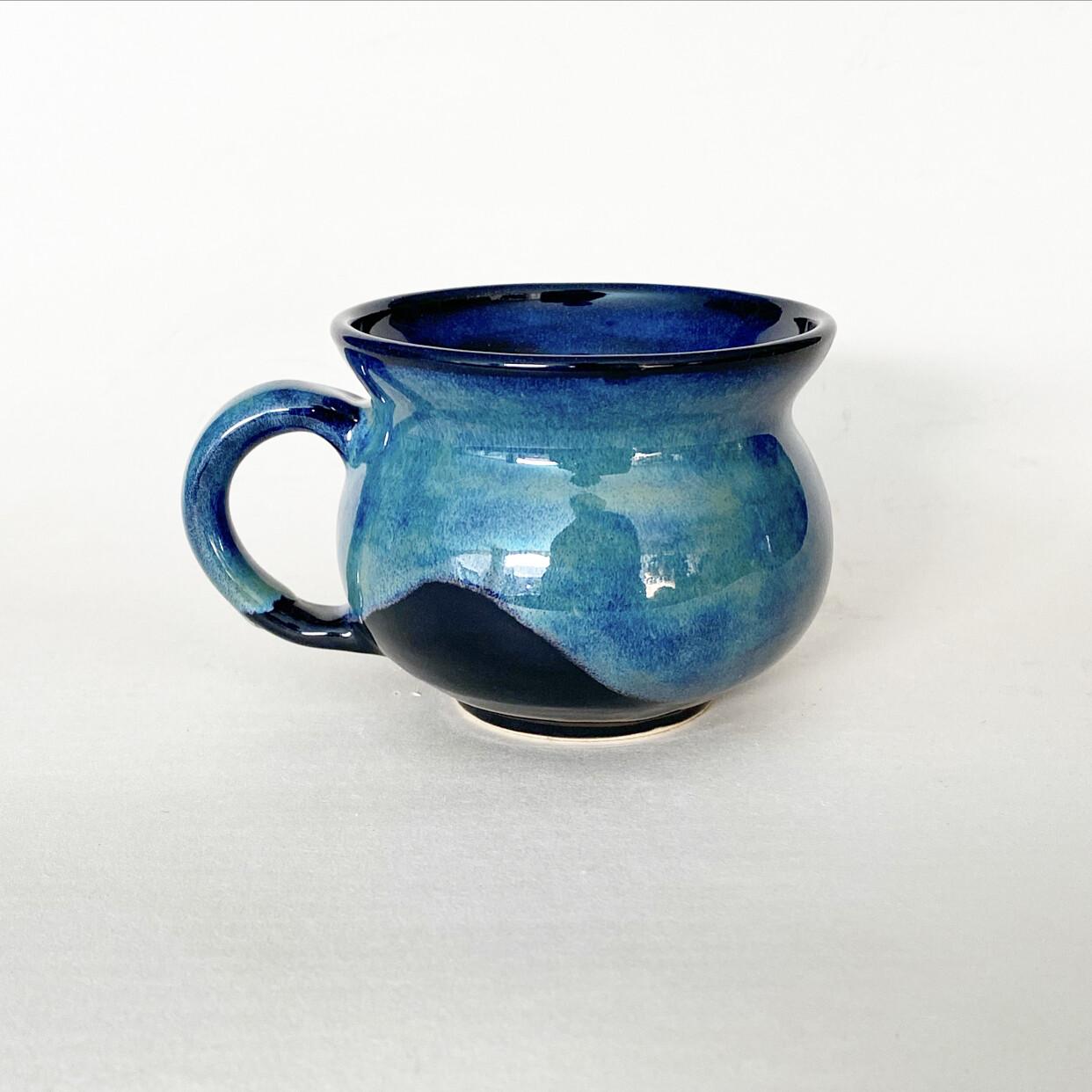 12oz Green and Blue Mug