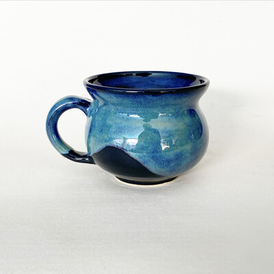 12oz Green and Blue Mug