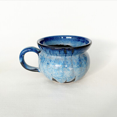 18oz Blue Ombré Mug