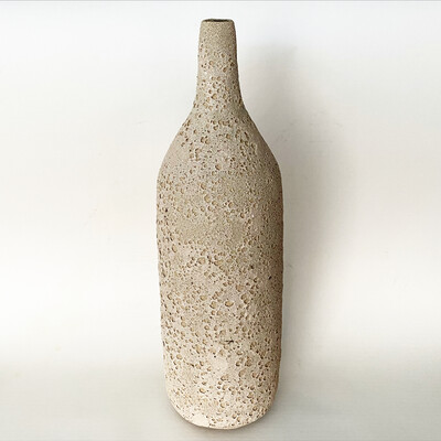 Large crater glaze Bottle