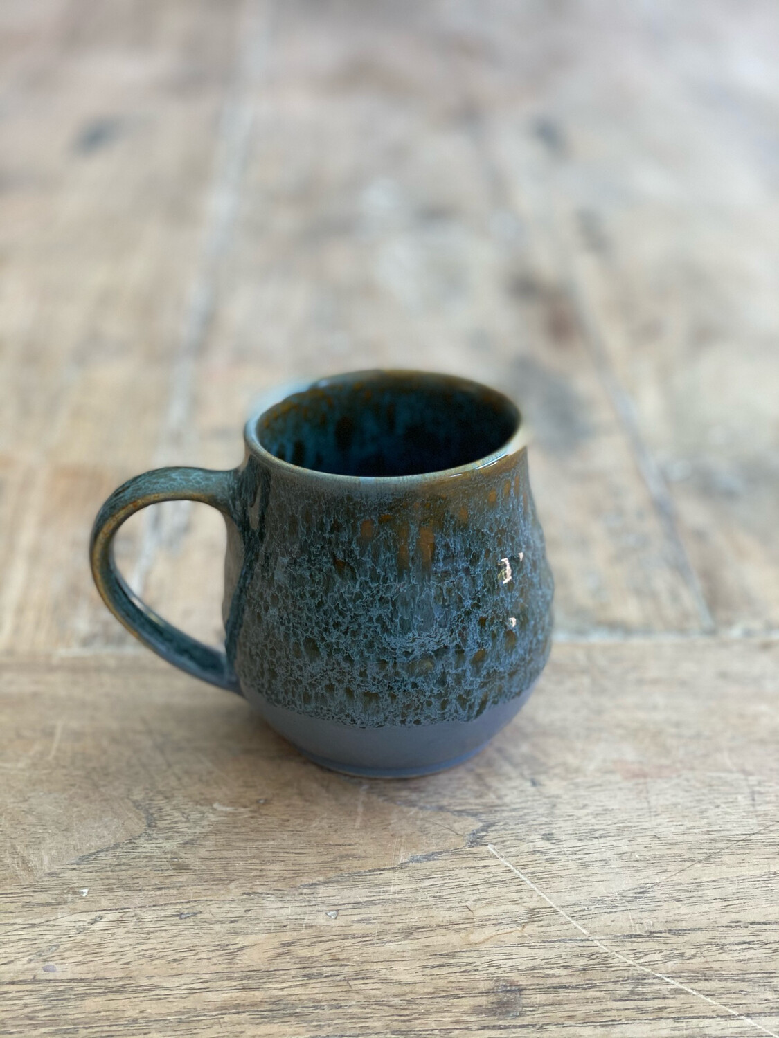 11oz Brown Grey Mug