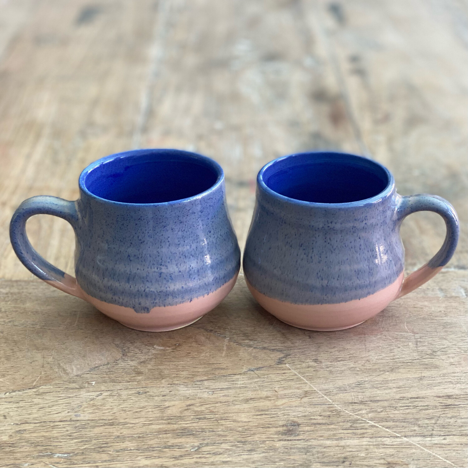 Blue and Pink Mug Set