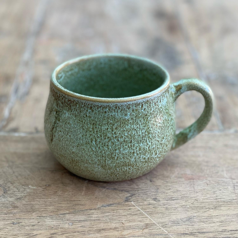 8oz Green/Brown Mug