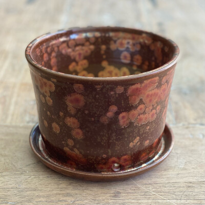 Copper Crystal Planter 4