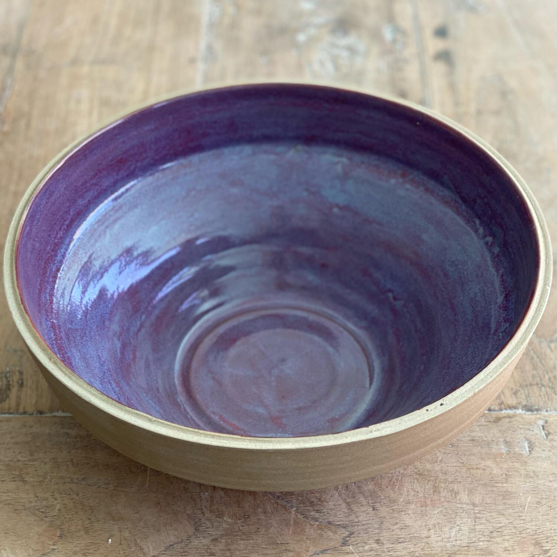 Purple Angled Bowl