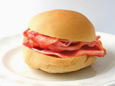 Bacon Roll  (add extras?)