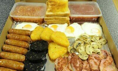 Breakfast Buffet for 4 people