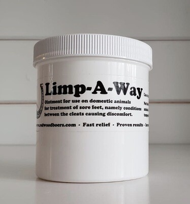 Limp-A-Way Animal Foot Ointment - 16 oz