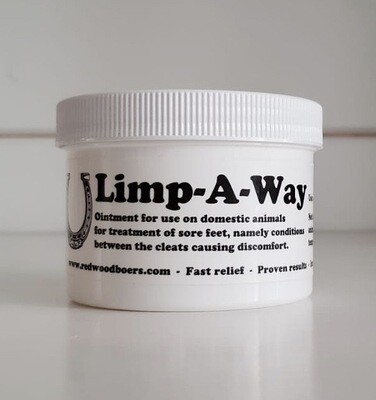 Limp-A-Way Animal Foot Ointment - 8 oz.