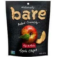 Bare Fuji and Red Apple Chips 1.4 oz