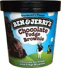 Ben and Jerry's Fudge Brownie pint