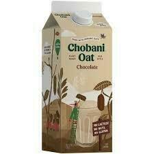 Chobani Chocolate Oat Milk 52 oz