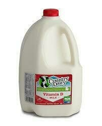 COUNTRY DAIRY WHOLE MILK QUART