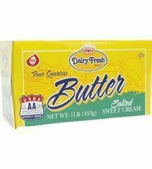 Dairy Fresh Butter Quarters 1 lb