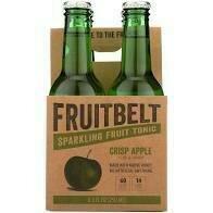 Fruitbelt Apple Dandelion Tonic Water 4 pk bottle