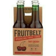 Fruitbelt Cherry Ginger Chicory Tonic Water 4 pk bottle