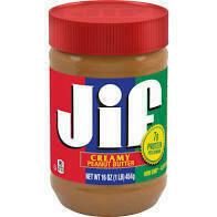 Jif Creamy Peanut Butter 1 lb 12 oz