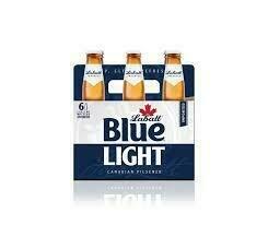 Labatt Blue Light 6pk Bottle