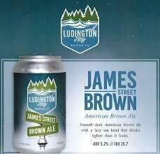 Ludington Bay James Street Brown 6 pk 12 oz cans