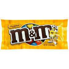 M&Ms Peanut Bag