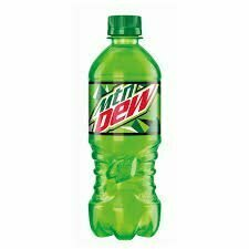 Mountain Dew 20 oz Bottle