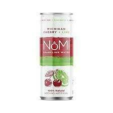 NoMi Michigan Cherry Lime Sparkling Water12oz