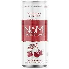 NoMi Michigan Cherry Sparkling Water 12oz