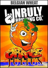 Orange Julius 6 pk can Unruly Brewery