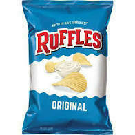 Ruffles Original Potato Chips 9 oz