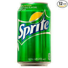 Sprite 12 oz can