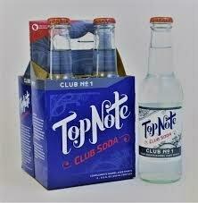 Top Note Club Soda 4 pk bottle