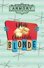 White Chocolate Blond Beer 6 pk can Grand Armory