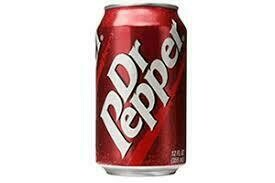 Dr Pepper 12oz Can