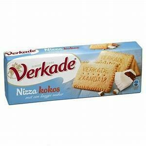 Verkade Nizza Coconut Sugar Cookies 8.8oz