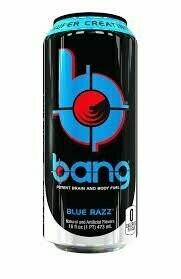 Bang Energy Blue Razz