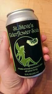St Steve's Elderflower Soda 12 oz