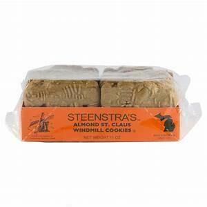Steenstra Almond Santa Clause Cookies (Windmill) 1 oz