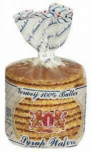 Stroopwafels Butter Syrup Wafer Cookies 8.8 oz