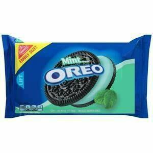 Oreo Mint Creme 1 lb 4 oz  Family Size