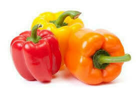 RED  / ORANGE BELL PEPPERS LARGE (each)