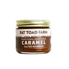 Fat Toad Salted Bourbon Caramel 2 oz