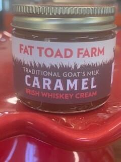 Fat Toad 2oz Irish Whiskey Cream Goat's Milk Caramel