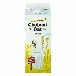 Chobani Oat Milk Plain 52 oz